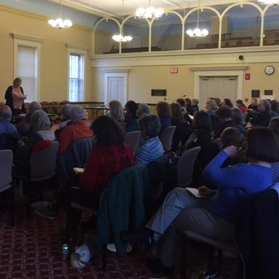 Sixty-five people from 23 municipalities joined the conversation about Chapter 61 enrollment withdrawal and how municipalities can effectively conserve land when these difficult situations arise.
