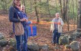 Wayside Forest Trail Opening. Photo by Sandy Gotlib.