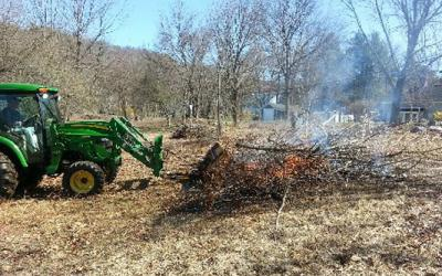 SVT staff, volunteers and neighbors are working to restore a historic field at the corner of Grove and Edmands Road in Framingham.