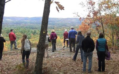 View from the North Overlook, Mount Pisgah